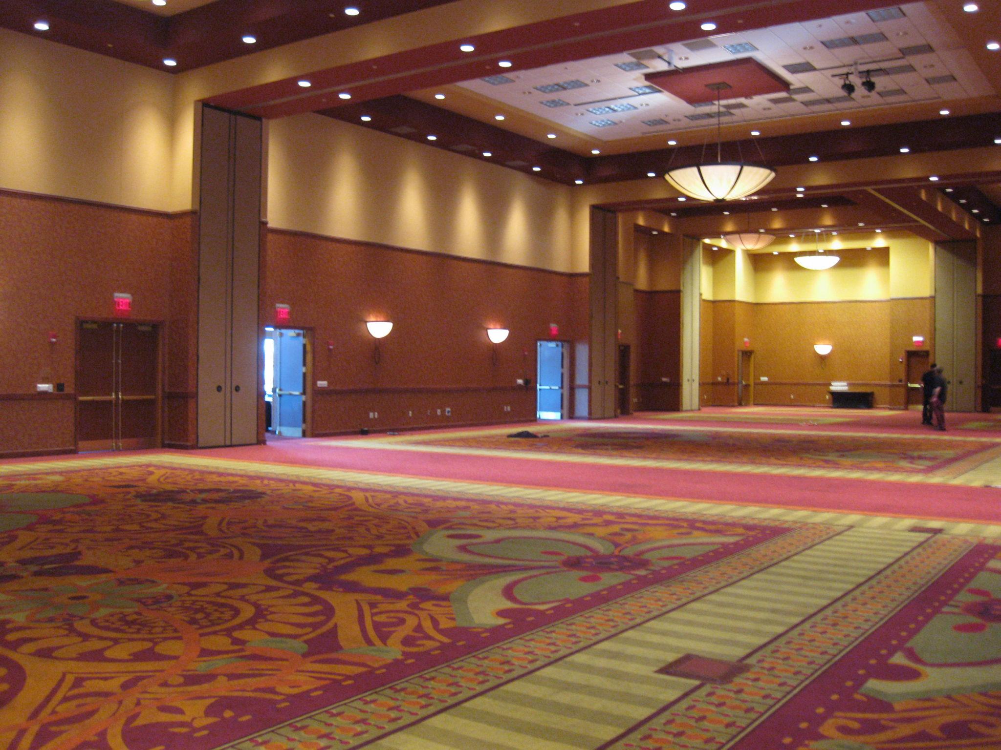 Transforming A Hotel Ballroom Ivan Carlson Amp Associates