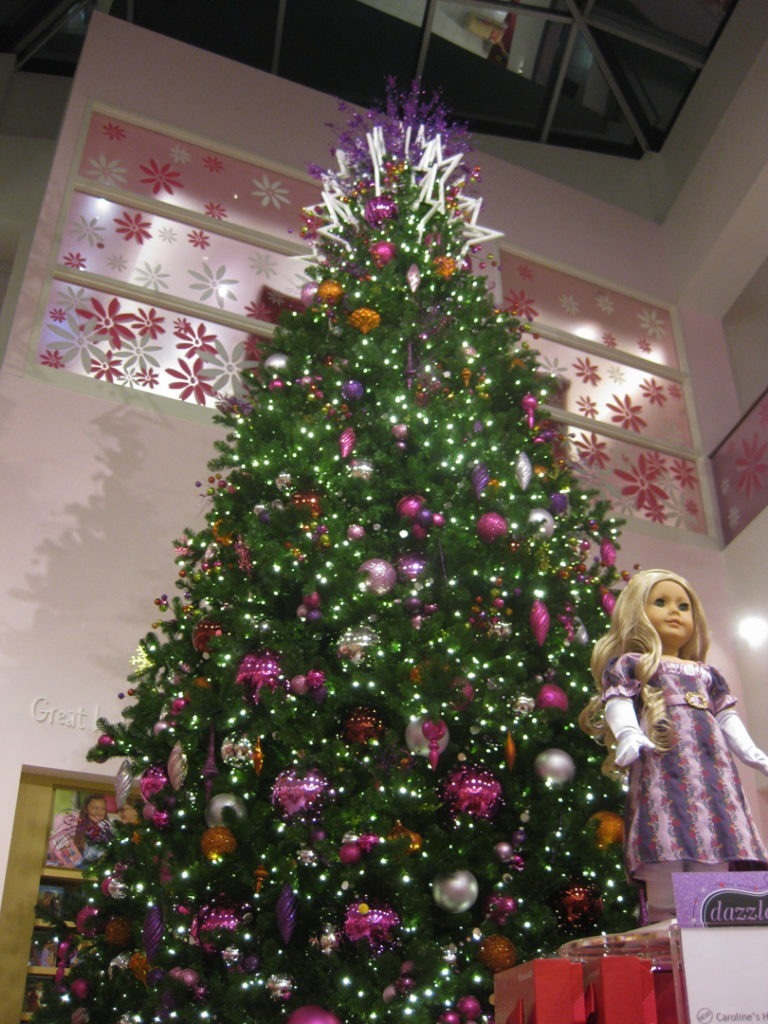 DALLAS American Girl tree 1