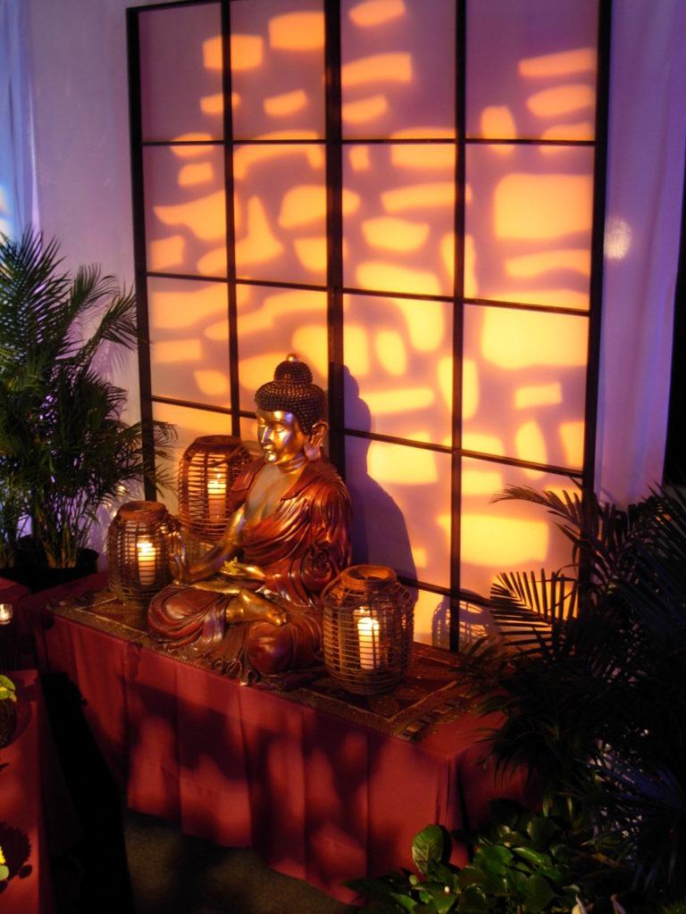 ICA-buddha & shoji screen