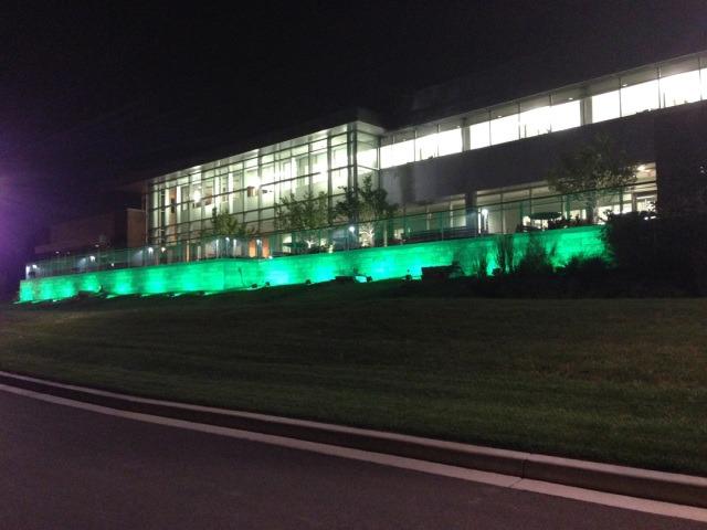 facade - green