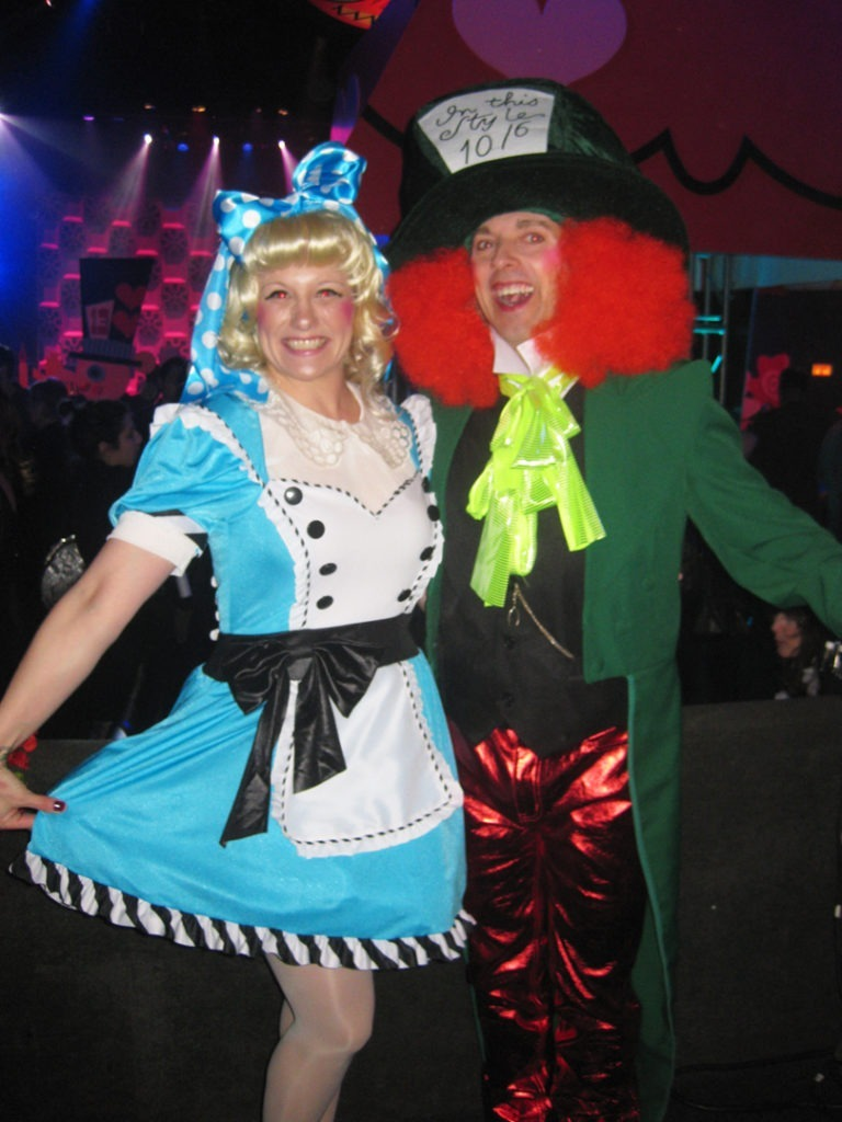 ACTOR alice & mad hatter-180