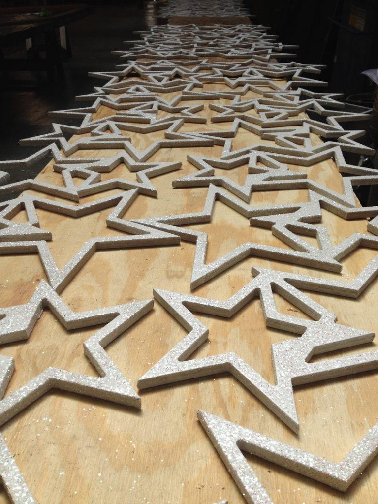 IvanCarlson glittered stars