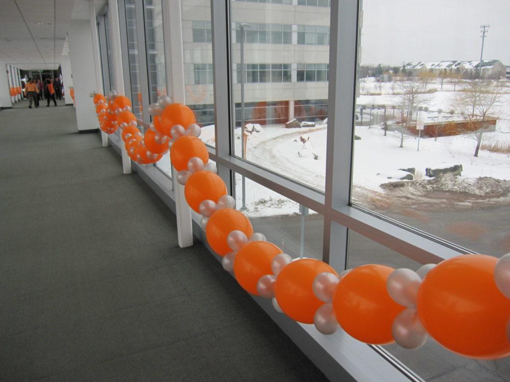 balloon swag