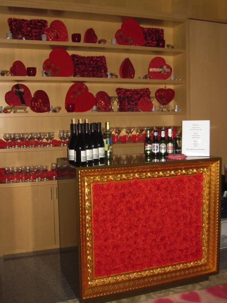 chocolate hearts wall 2-180