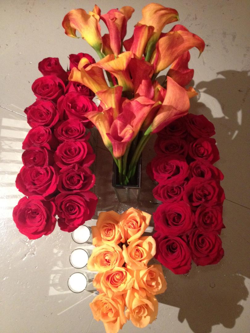 CTC highboy mirrored vase arrangement1