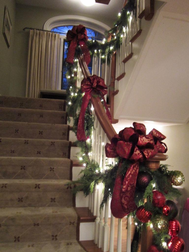 foyer stairway 1