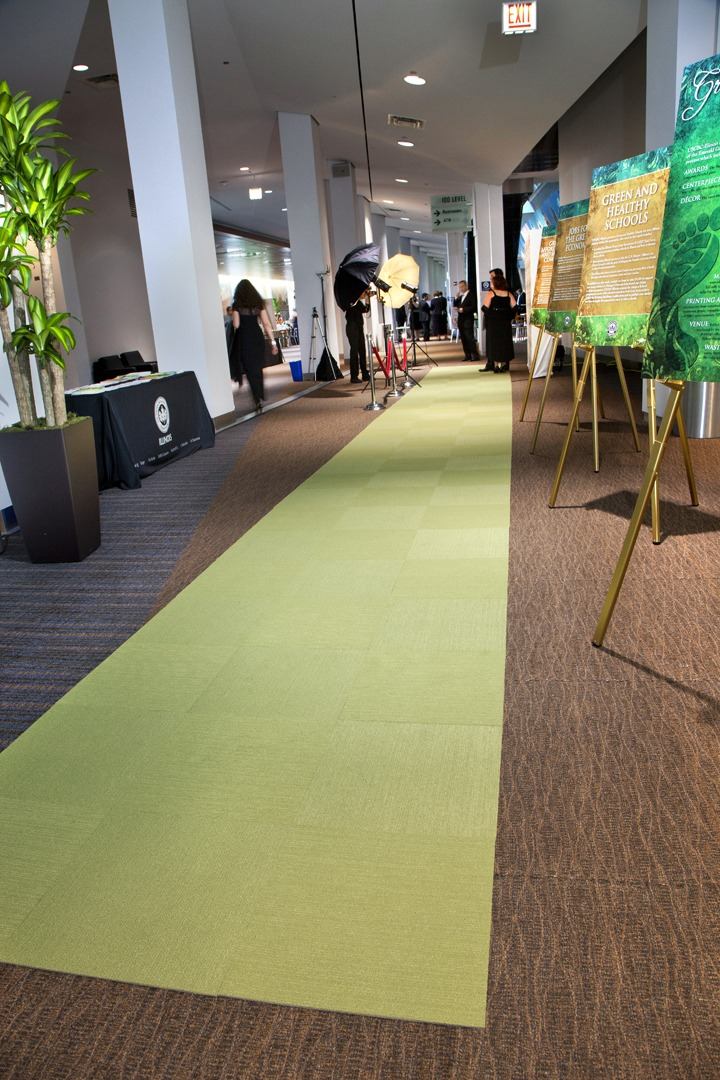 the green carpet