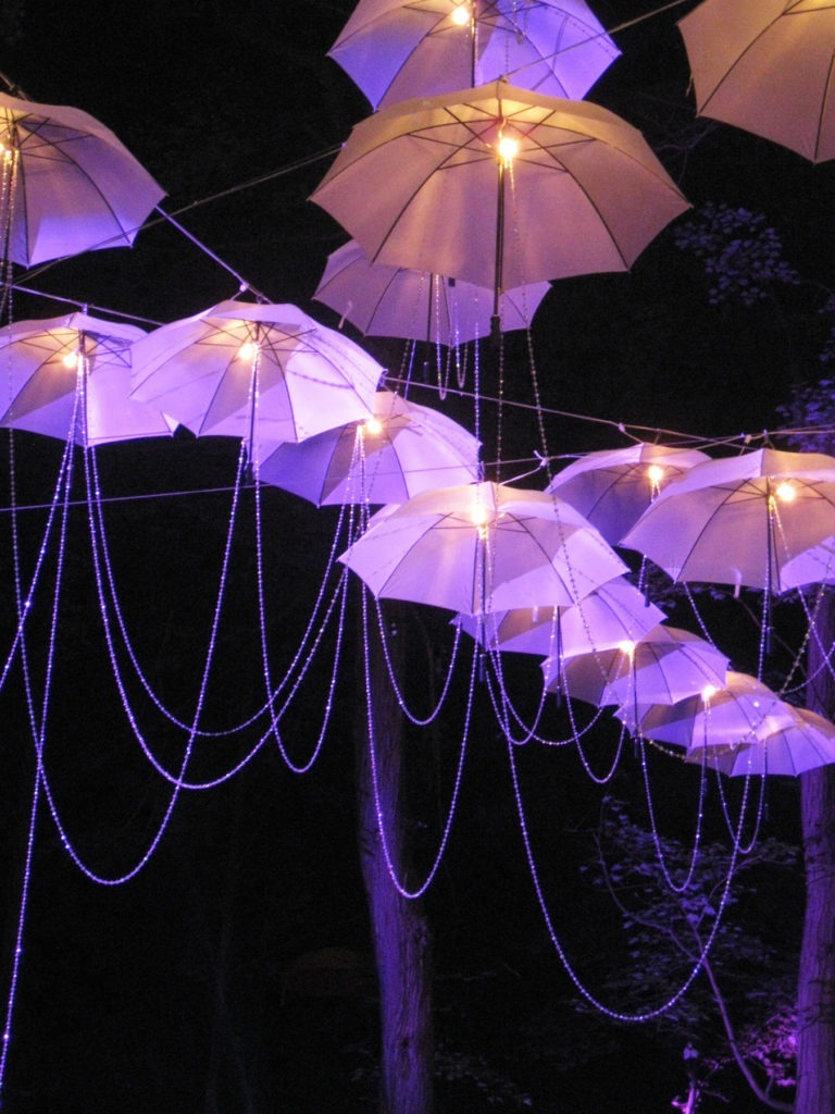 umbrellas at night 3-300